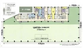 浜離宮三井ビルディング:基準階図面