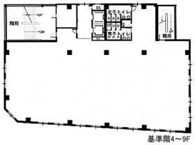 クアトロ室町ビル:基準階図面