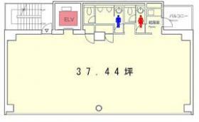 日総第23(EXPERT OFFICE虎ノ門)ビル:基準階図面