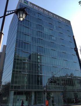 エスエス製薬本社ビルの外観写真