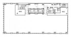 東山ビルディング:基準階図面