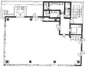 ACN八丁堀ビル:基準階図面
