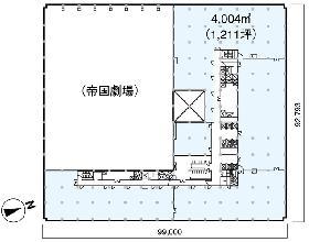 国際ビル:基準階図面
