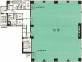 安田グリーンパークビル:基準階図面