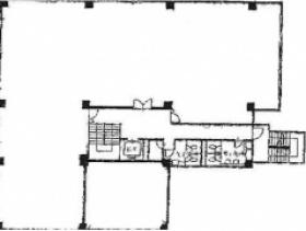 鳥本鋼業ビル:基準階図面