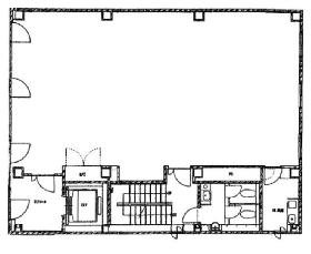 芝大門RUビル:基準階図面