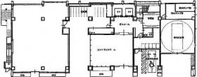 プルータスビル:基準階図面