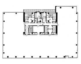 北の丸スクエア:基準階図面