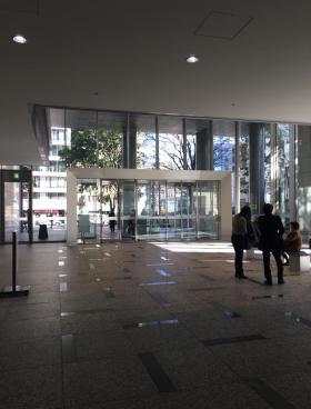 北の丸スクエアの内装