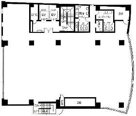 Daiwa麹町4丁目(サンライン第7)ビル:基準階図面
