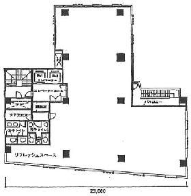 TUG-Iビル:基準階図面