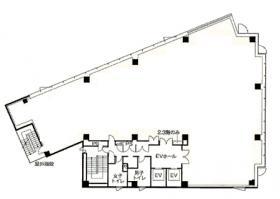 Daiwa神保町ビル:基準階図面