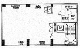 第2日成ビル:基準階図面