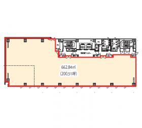 大東ビル:基準階図面