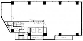 わらび市川ビル:基準階図面