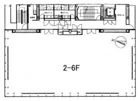フィールド北参道ビル:基準階図面