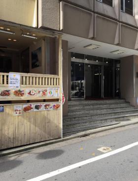 ワールド宇田川ビルのエントランス