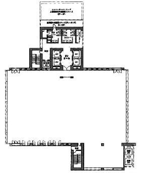 E・スペースタワー:基準階図面