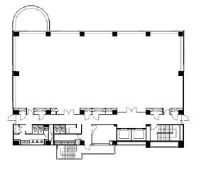 フジキカイ広尾ビル:基準階図面