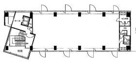 サクラガオカ63ビル:基準階図面