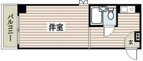 グランドメゾン新宿御苑:基準階図面