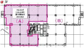 麹町M-SQUAREビル:基準階図面