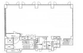 千代田ビル:基準階図面