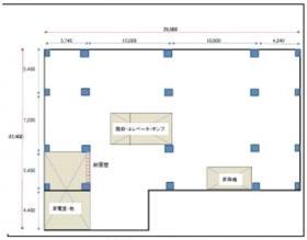 信川ハイツビル:基準階図面