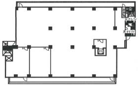 シティプラザ新宿:基準階図面