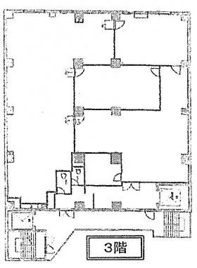 大東芝浦ビル:基準階図面