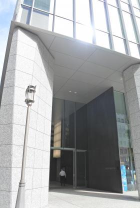 日本ガス協会ビルのエントランス