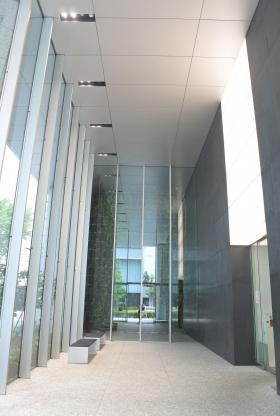 日本ガス協会ビルの内装