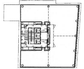 日本ガス協会ビル:基準階図面