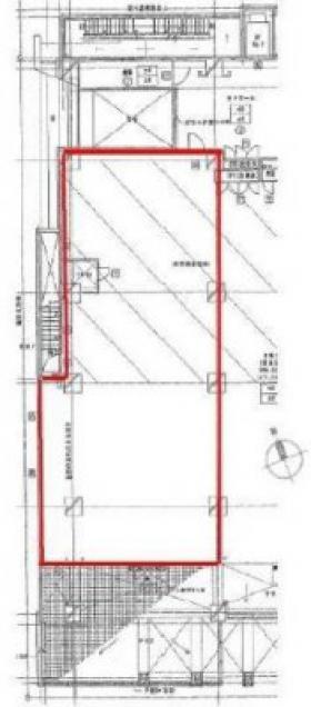 六本木デュープレックスタワー:基準階図面