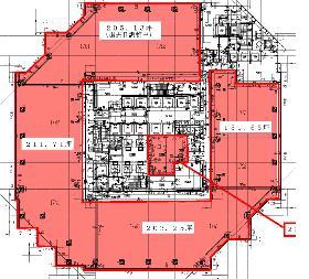 品川イーストワンタワー:基準階図面