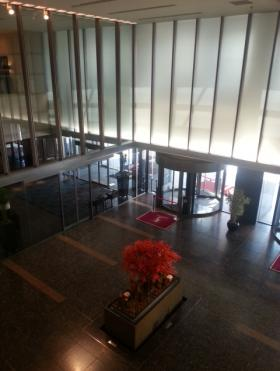 品川イーストワンタワーの内装
