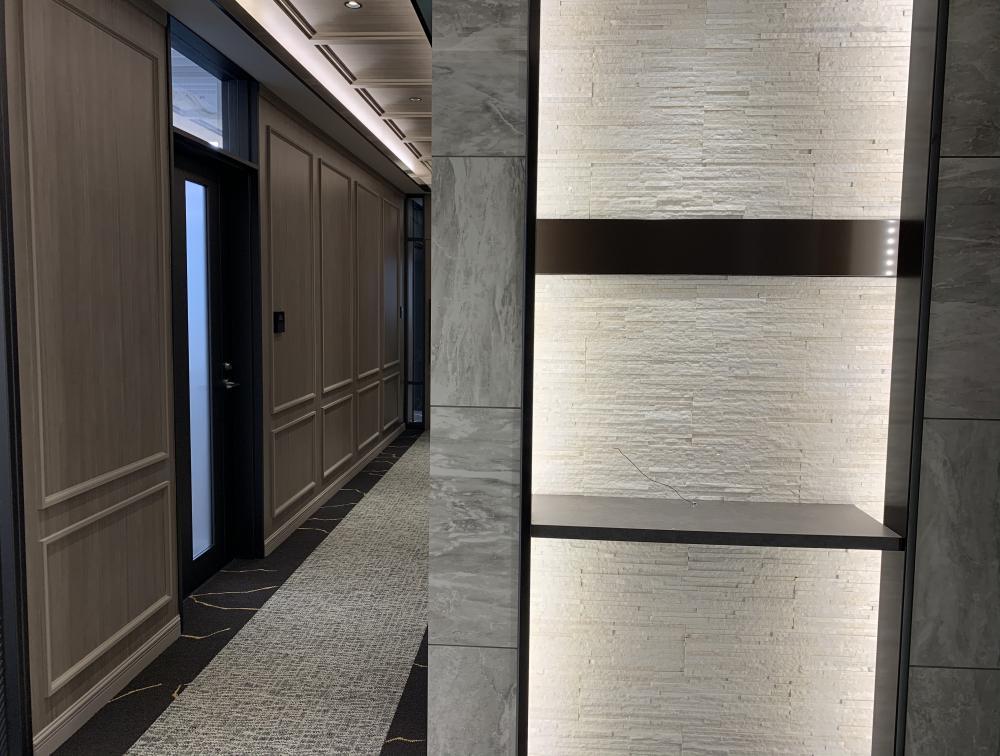 東京都港区新橋 約80坪の内装