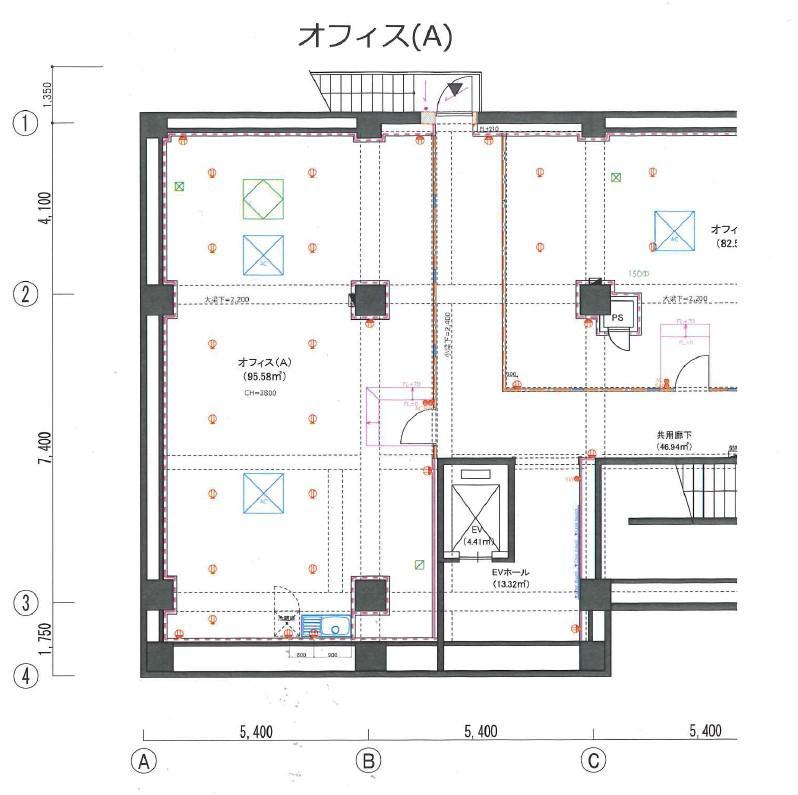 東京都新宿区市谷田町 約30坪の図面