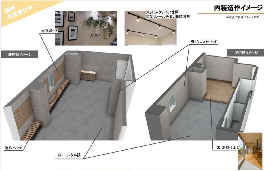 東京都千代田区岩本町 約35坪の内装