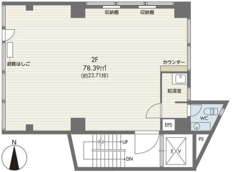 東京都豊島区駒込 約25坪の図面